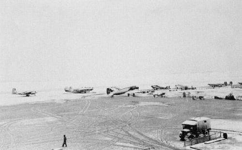 aeroporto 1945 nevao